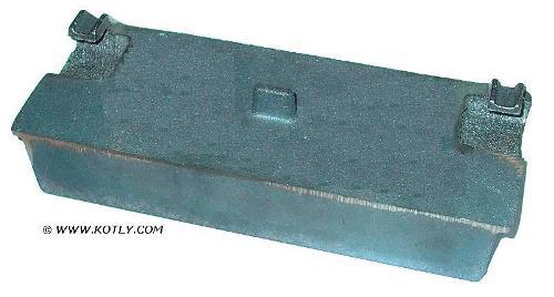Żeliwna klapka zawieszana do drzwiczek górnych do kotła Viadrus U26