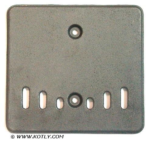 Osłona wewnętrzna drzwiczek górnych kotła VIADRUS U26