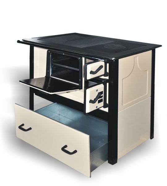 Kuchnia węglowa typu TK2  610 z szufladą  sklep Kotly com pl