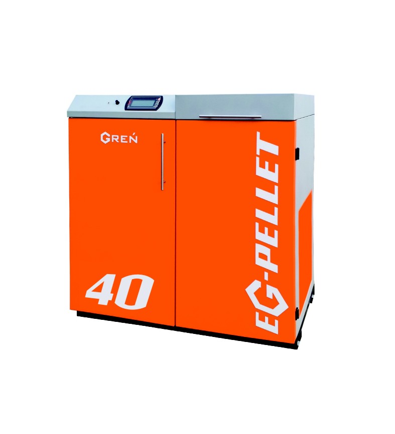 Boiler for pellets EG-Pellet 40 kW
