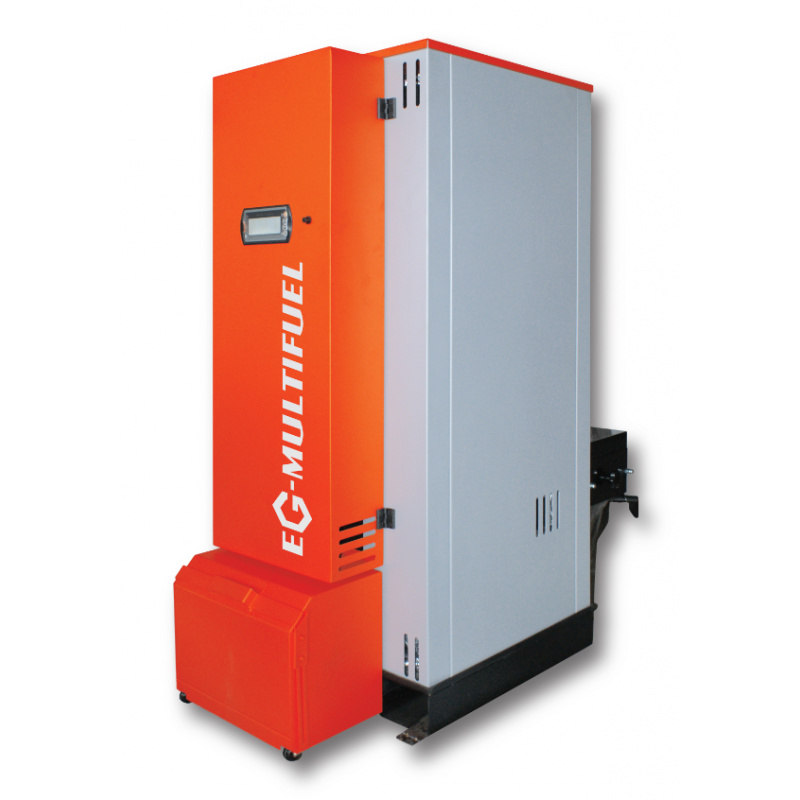 Boiler for pellets and wood chips EG-Multifuel 27 kW