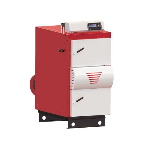 Stationäre interne direkte Heizung Orligno 600 - 25 kW - Kessel ...