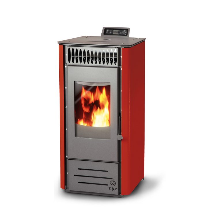 Pellet stove slim kw central heating polish boilers
