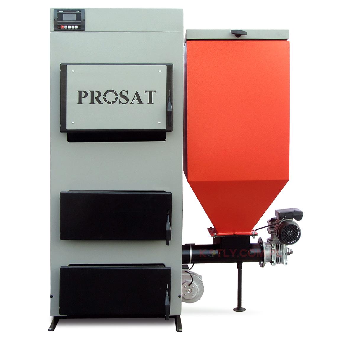 Kocioł z podajnikiem PROSAT 46 kW