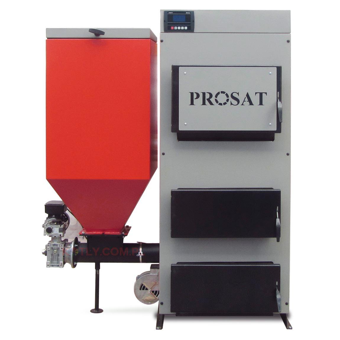 Kocioł z podajnikiem PROSAT 66 kW
