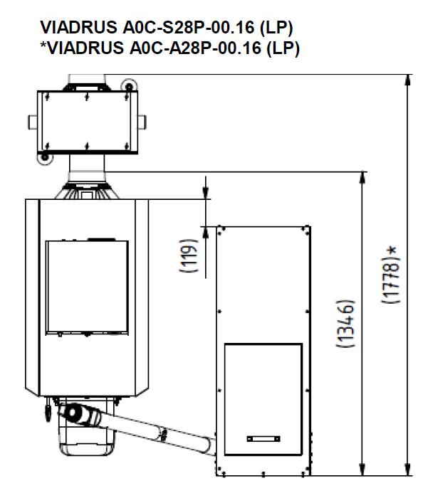 Kessel Viadrus A0C LP - 7 Glieder - 28 kW - Kessel, Heizkessel ...