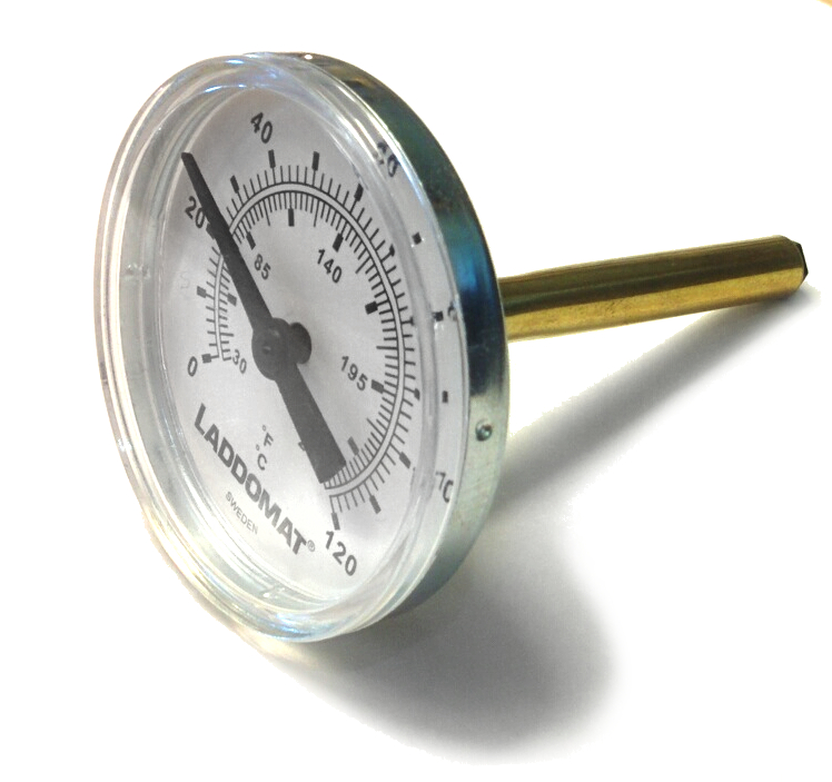 Termometr bimetaliczny Laddomat 120 C