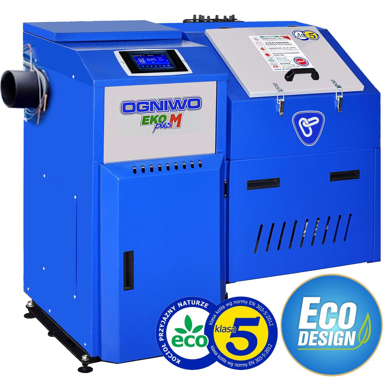 Kocioł Ogniwo EKO PLUS M 20 kW czopuch boczny