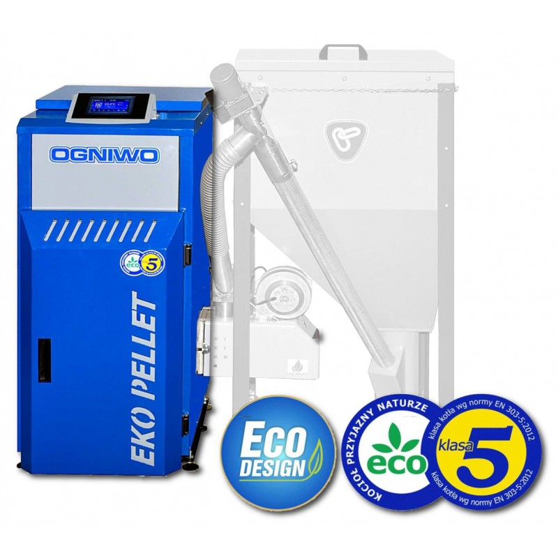 Kocioł na pellet Ogniwo EKO PELLET 25 kW