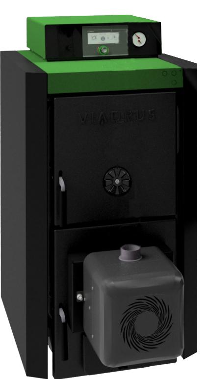 Cast-iron boiler Viadrus A0C - 8 segments - 32 kW