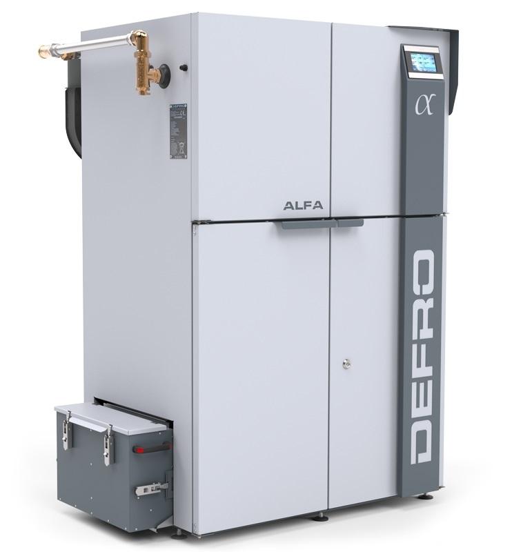 Boiler for pellets Defro Alfa 17 kW