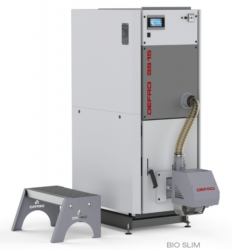 Boiler for pellets Defro Bio Slim 25 kW