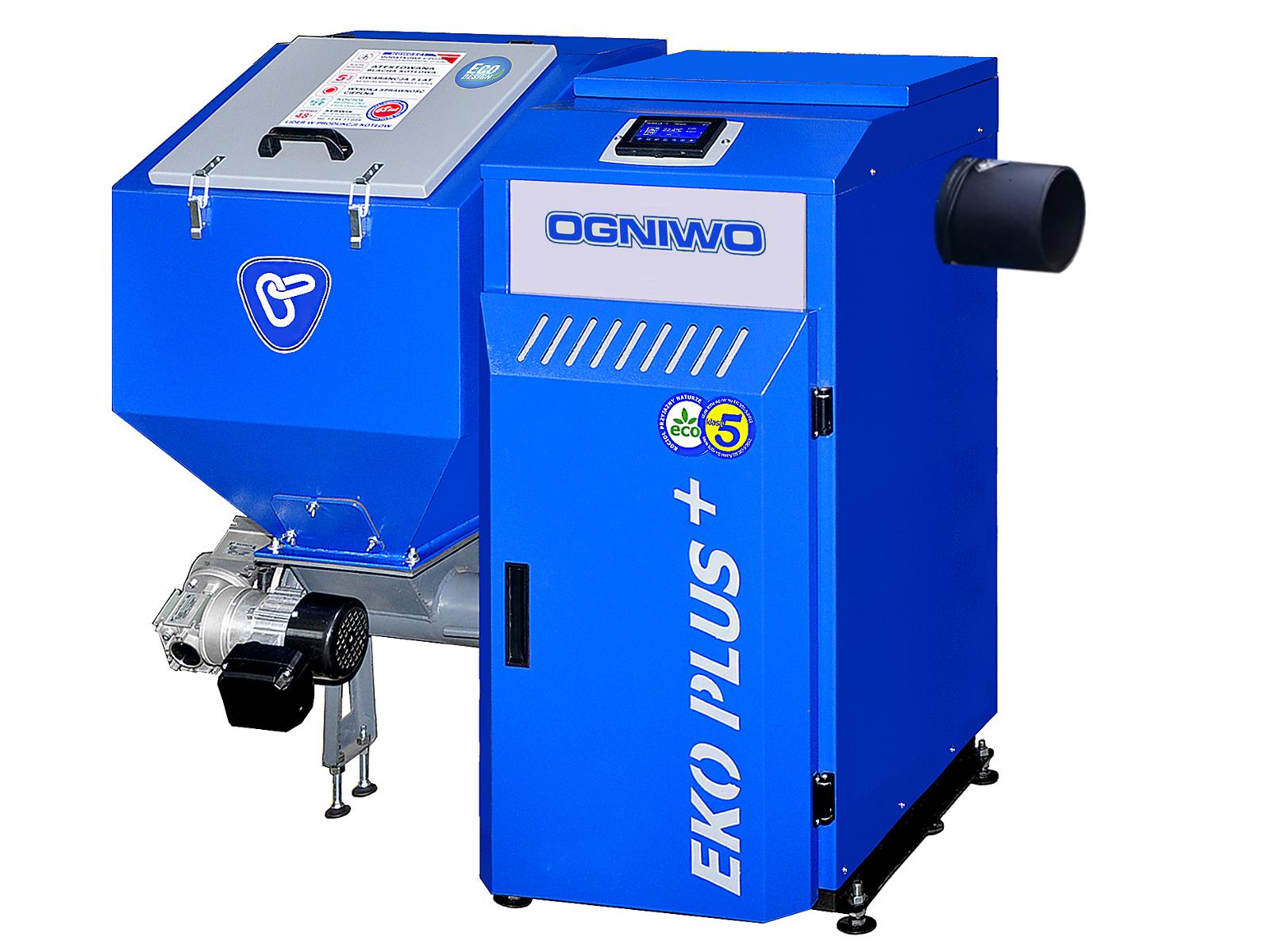 Boiler for coal and culm OGNIWO EKO PLUS + 25 kW with internet module control