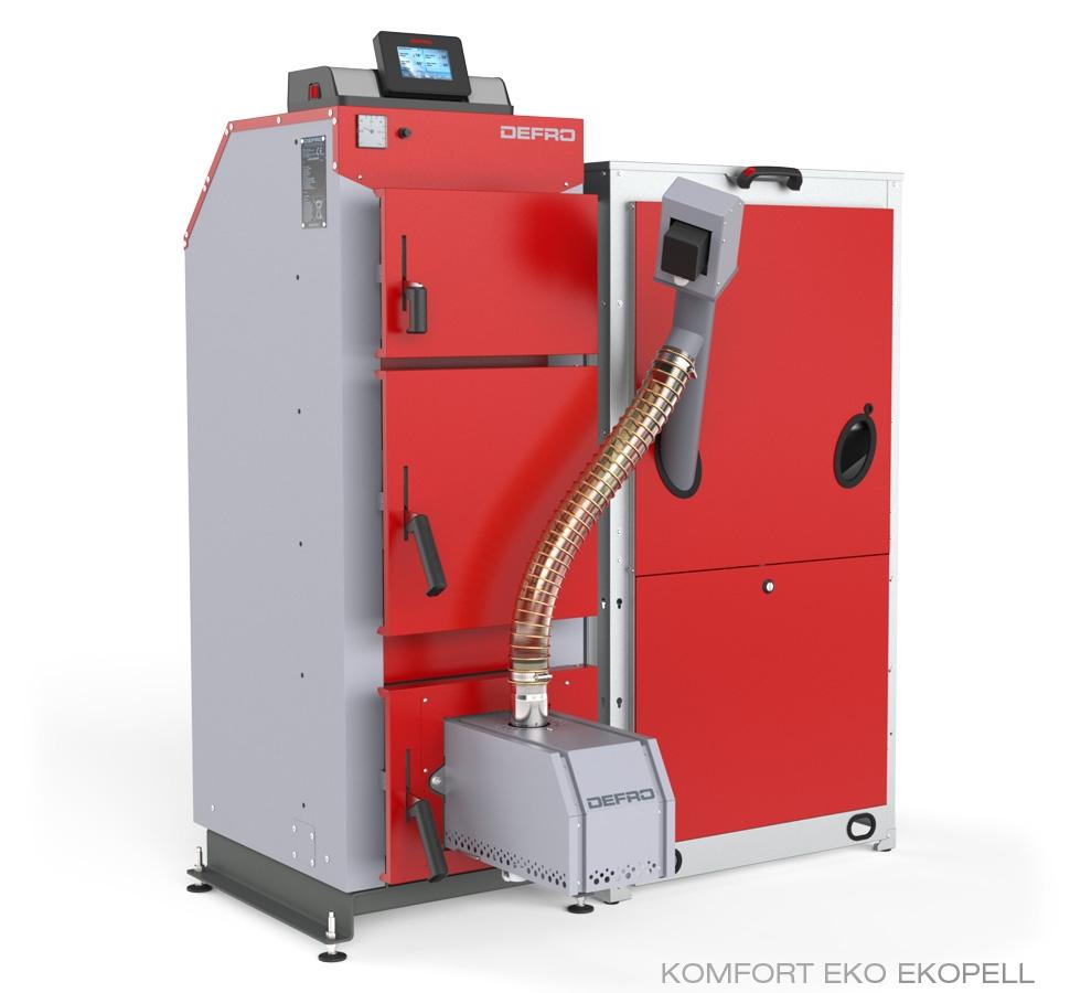 Boiler Defro Komfort  EKO EKOPELL 25 kW
