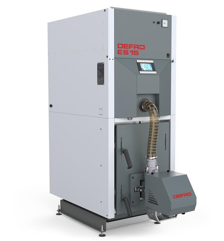 Boiler for pellets Defro Eko Slim 25 kW