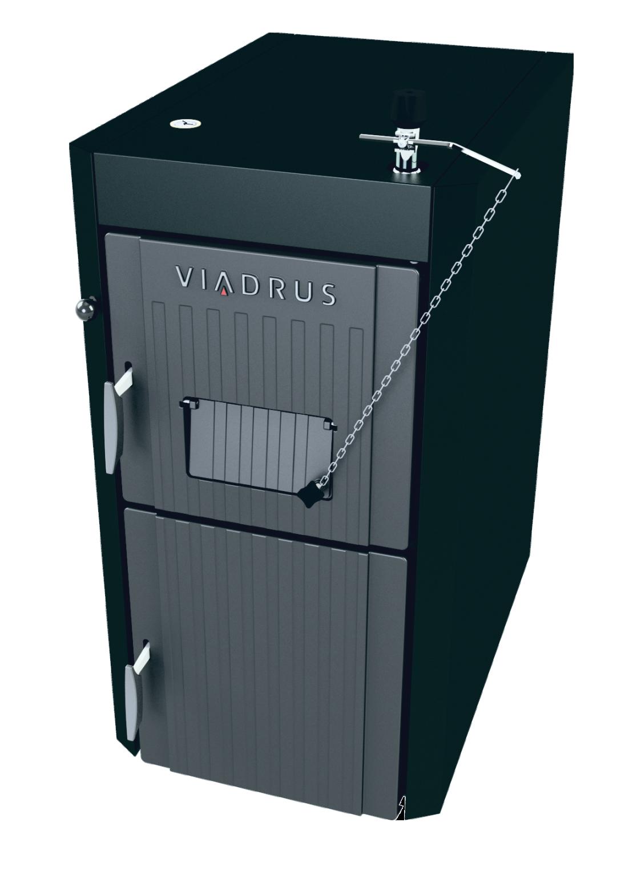 Cast iron boiler for wood Viadrus U22 Economy 25 kW