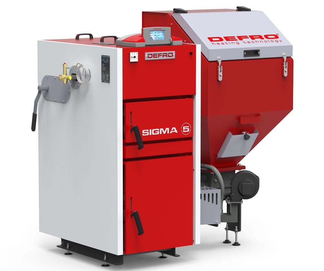 Boiler Defro Sigma Uni 24 kW - 2017