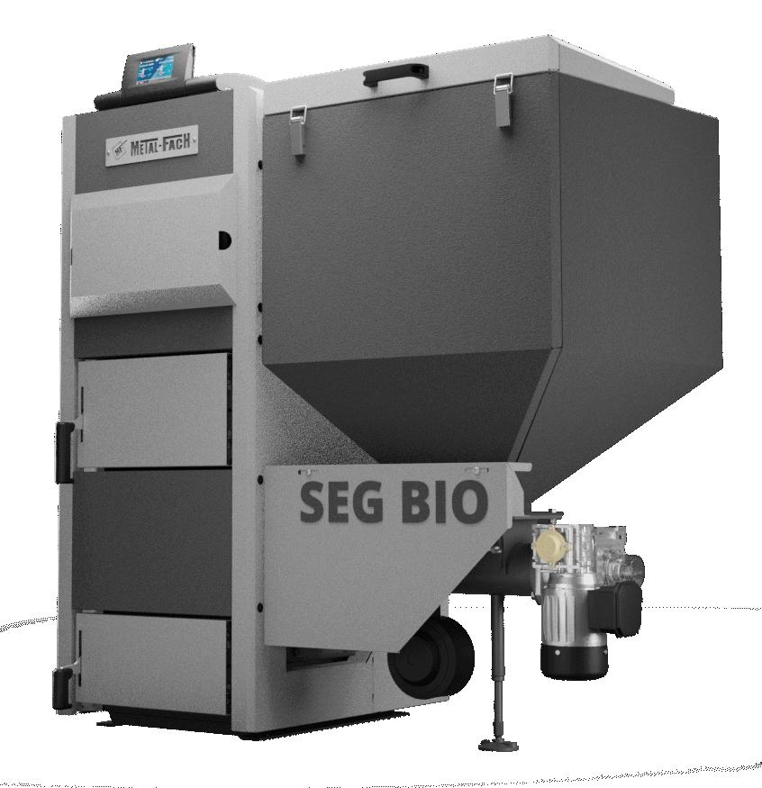 Kocioł na pellet Metal-Fach SEG BIO 40 kW
