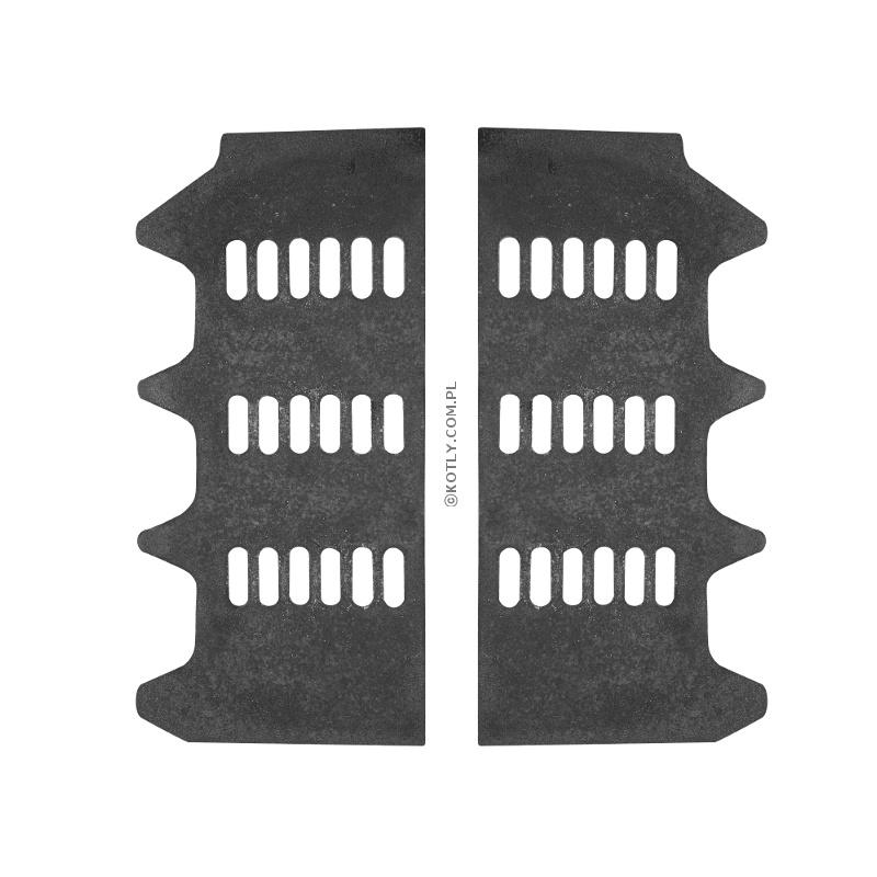 Ruszt dodatkowy do palenia drewna w VIADRUS U26 5 członów - komplet (2 szt.)