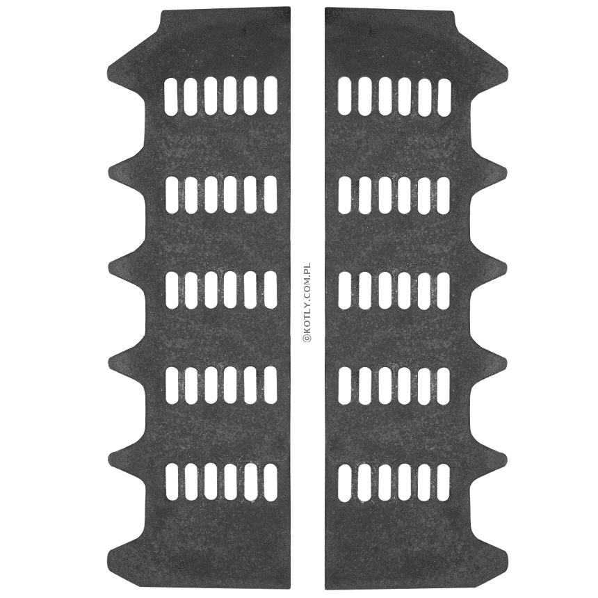 Ruszt dodatkowy do palenia drewna w VIADRUS U26 7 członów - komplet (2 szt.)