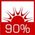 Sprawność 90%