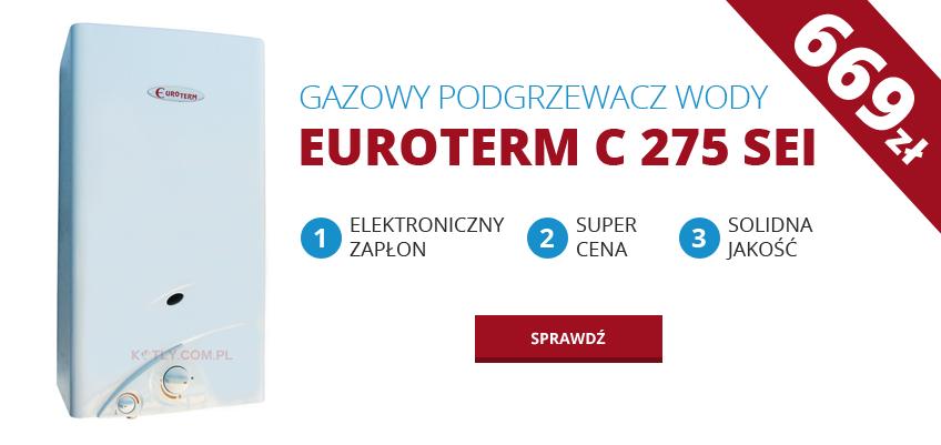 Piecyk gazowy Euroterm C275