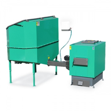 Automatic set for biomass burning AZSB 60 GZ with cast-iron burner 60kW