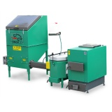 Automatic set for biomass burning AZSB  30 GC with ceramic burner