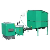 Automatic set for biomass burning AZSB  50 GC with ceramic burner  50kW