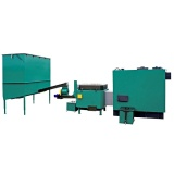 Automatic set for biomass burning AZSB 240 GC with ceramic burner 240kW  and automatic ash removal