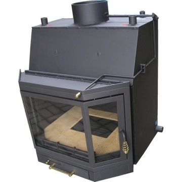 Fireplace with a water jacket T700A CO - 22 kW