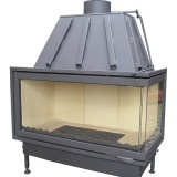 Fireplace K100x50P - 16 kW