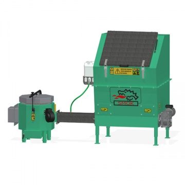 Automatic stoker APSB SMOK GC with ceramic burner  30kW - for wet biomass