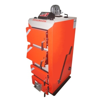 Coal boiler STALMARK PID - 40 kW with exhaust gases temperature sensor
