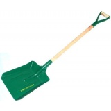 Coal shovel made from steel - large