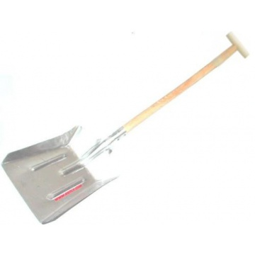 Coal shovel made from aluminium - large