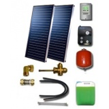 Solar package for 2-3 persons without hot water tank - 2 collectors ES2V 2,65S Cu-Cu, STDC, S24