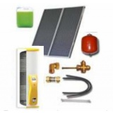Complete solar package IT (2 collectors ES1V 2,0S Al-Cu / IT 2W.200) for 2 or 3 people family