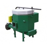 Ceramic burner 30 kW - for wood chips burning of the humidity 25-40%