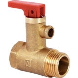 Safety valve AF-4 for domestic hot water tanks 6 Bar - 1/2""