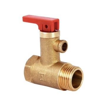 Safety valve AF-4 for domestic hot water tanks 6 Bar - 1/2 ...