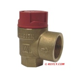 "Safety Valve 1/2""-2 bar Afriso"