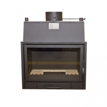 Fireplace with a water jacket  PP690A CO - 15 kW