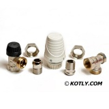 Honeywell VTL320EA15 Set - Thermostat head + Thermostatic valve (angle) + Lockshield valve (angle)