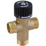 Thermic mixing valve 38°C - 65°C (for underfloor heating and domestic hot water)