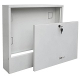 Wall-mounted cabinet PROSAT N12/8. Up to 12 heating circuits