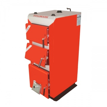 Boiler STALMARK GAJOWY for wood, wood chips, coal - 27 kW