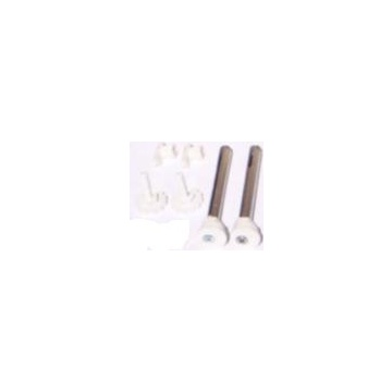 Holders for side fed radiators KORAD (for ceramic breezeblock walls; kit for one radiator)