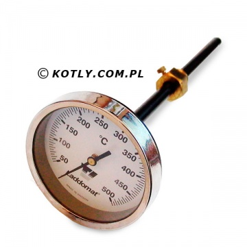 Rauchgastemperaturthermometer Laddomat 250 mm