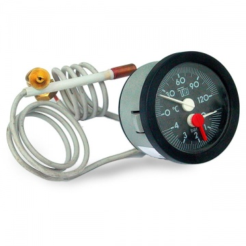 Thermometer for boiler VIADRUS U 26 large 58mm
